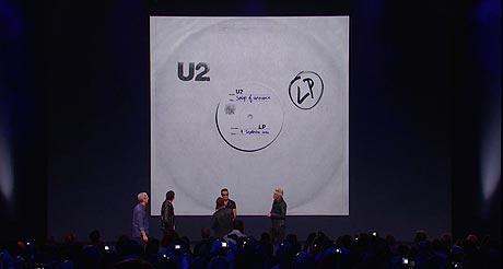 Apple: U2 - Songs of Innocence