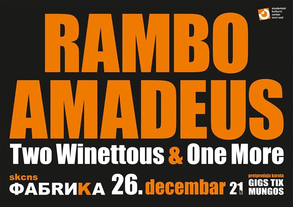Rambo Amadeus @ SKCNS Fabrika