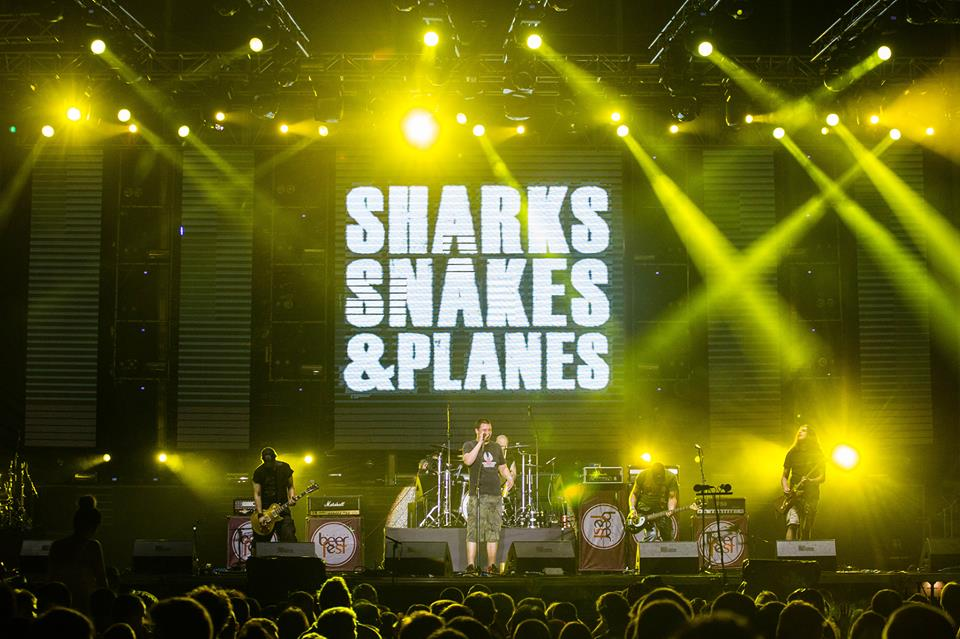 Sharks, Snakes & Planes
