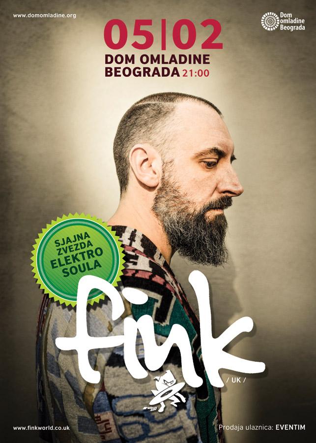 Fink @ Dom omladine, Beograd