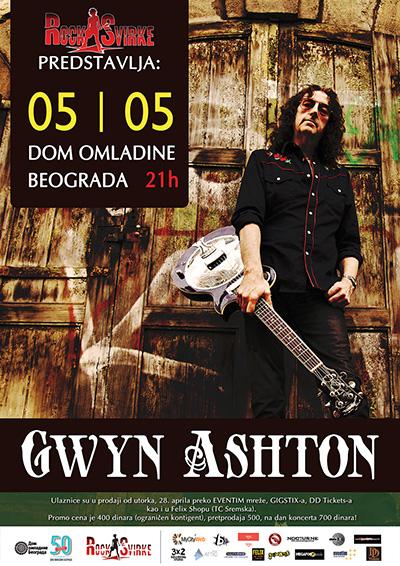 Gwyn Ashton @ Dom omladine Beograda