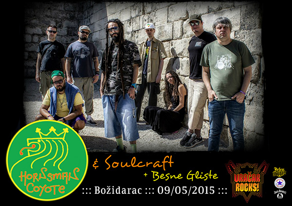 Hornsman Coyote & Soulcraft @ Vračar Rocks, Božidarac