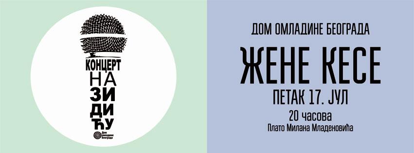 ŽeneKese @ Zidić Doma omladine Beograda