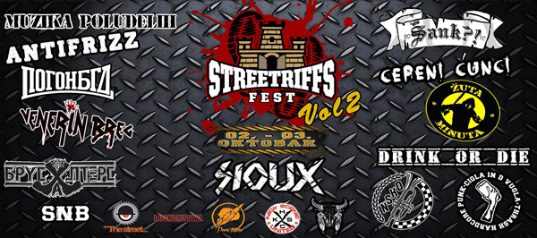 """Streetriffs Fest Vol. 2 – Dvodnevna pank """"klinika"""" u Beogradu"""