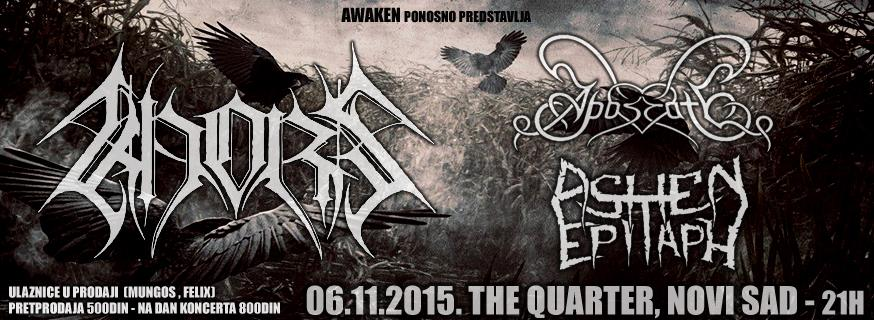 Khors, Apostate i Ashen Epitaph @ The Quarter, Novi Sad