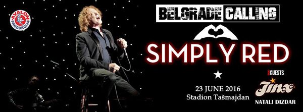 Simply Red @ Belgrade Calling 2016