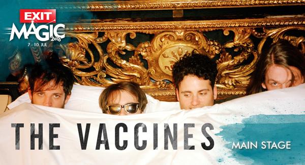 The Vaccines i gitarski pobunjenici na Exitu!