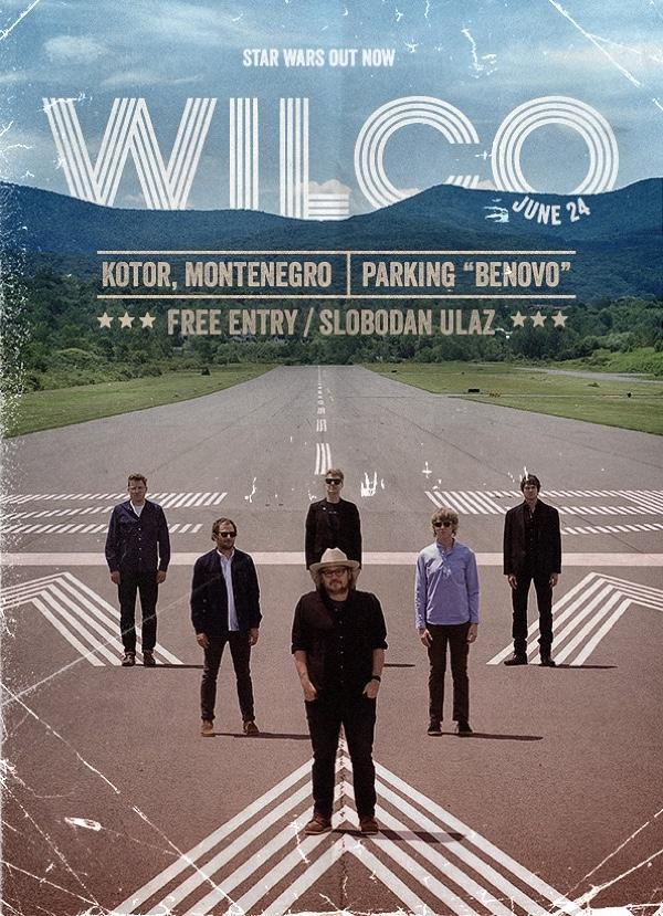 SeaRock predstavio promo spot za koncert grupe Wilco u Kotoru
