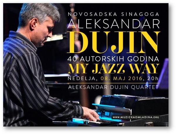 Koncert povodom 40 godina autorskog rada Aleksandra Dujina