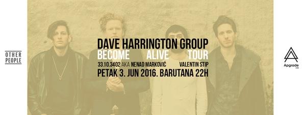 Dejv Herington u Beogradu 3. juna