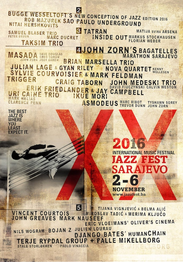 Objavljen plakat XX džez festivala u Sarajevu