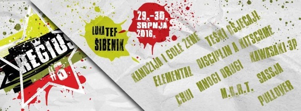 Kompletan line up regionalnog, alternativnog festivala Regius u Šibeniku