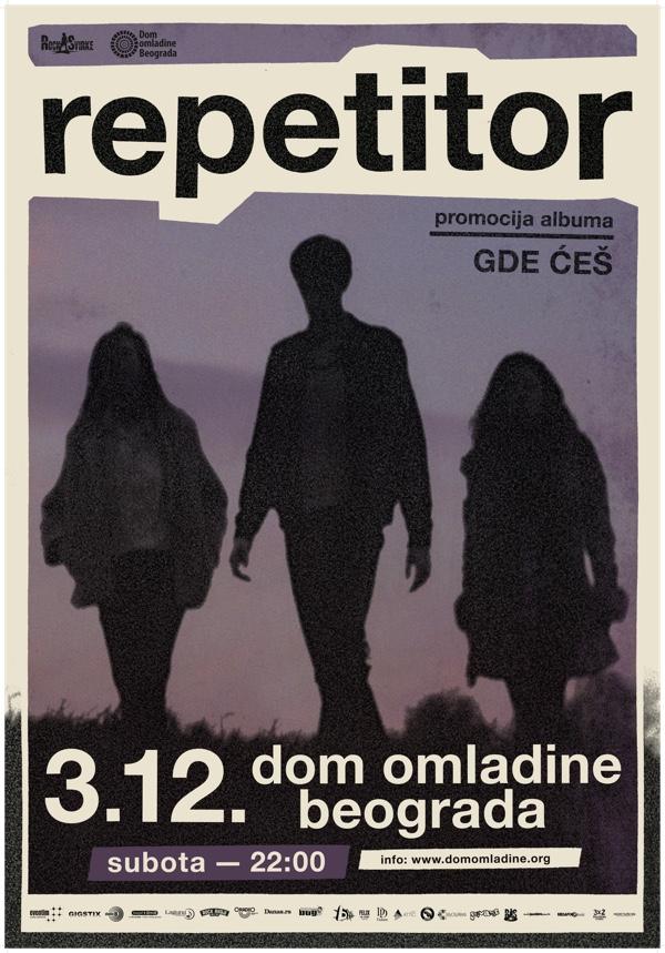 Repetitor - Dom omladine 2016