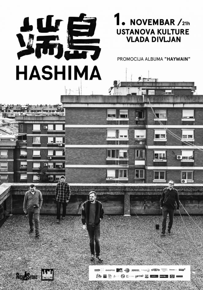 Hashima @ Centar za kulturu Vlada Divljan, Beograd