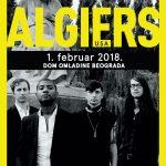 Algiers (USA) premijerno u Srbiji 1. februara u Domu omladine Beograda