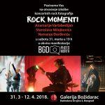 Izložba koncertnih rok fotografija ROCK MOMENTI u Beogradu