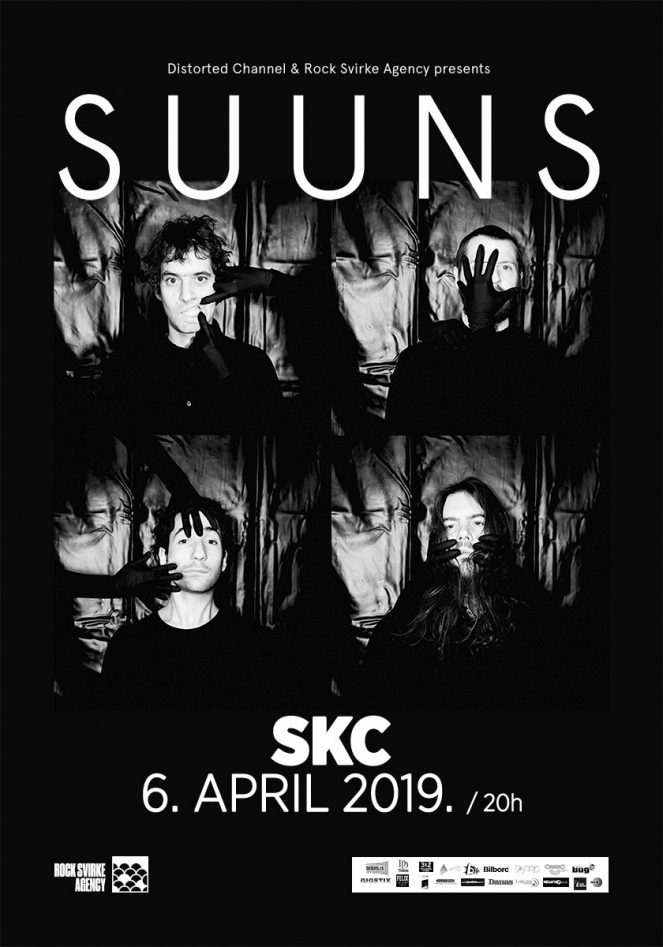 SUUNS (CAN) @ SKC, Belgrade