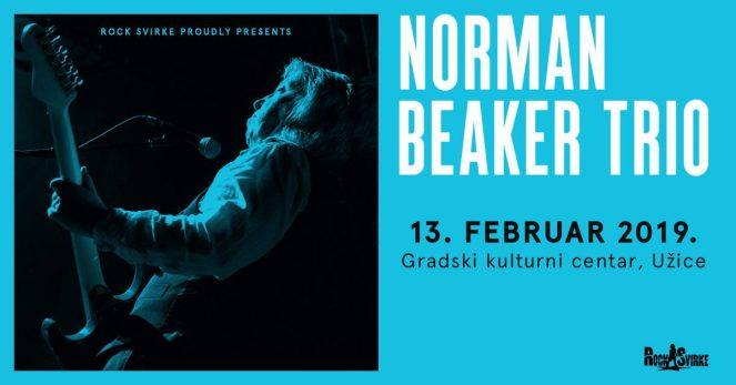 Norman Beaker Trio (UK) @ GKC, Uzice (Serbia)