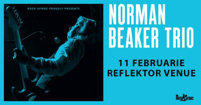 Norman Beaker Trio (UK) @ Reflektor Venue, Timisoara (Romania)