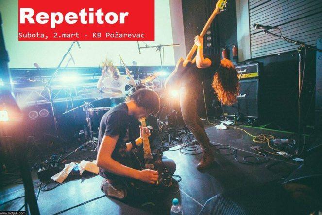Repetitor @ Klub KB, Pozarevac